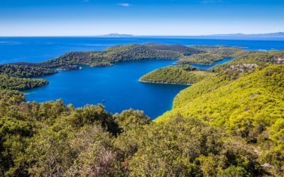 Croatie Trek sur l'île de Mljet