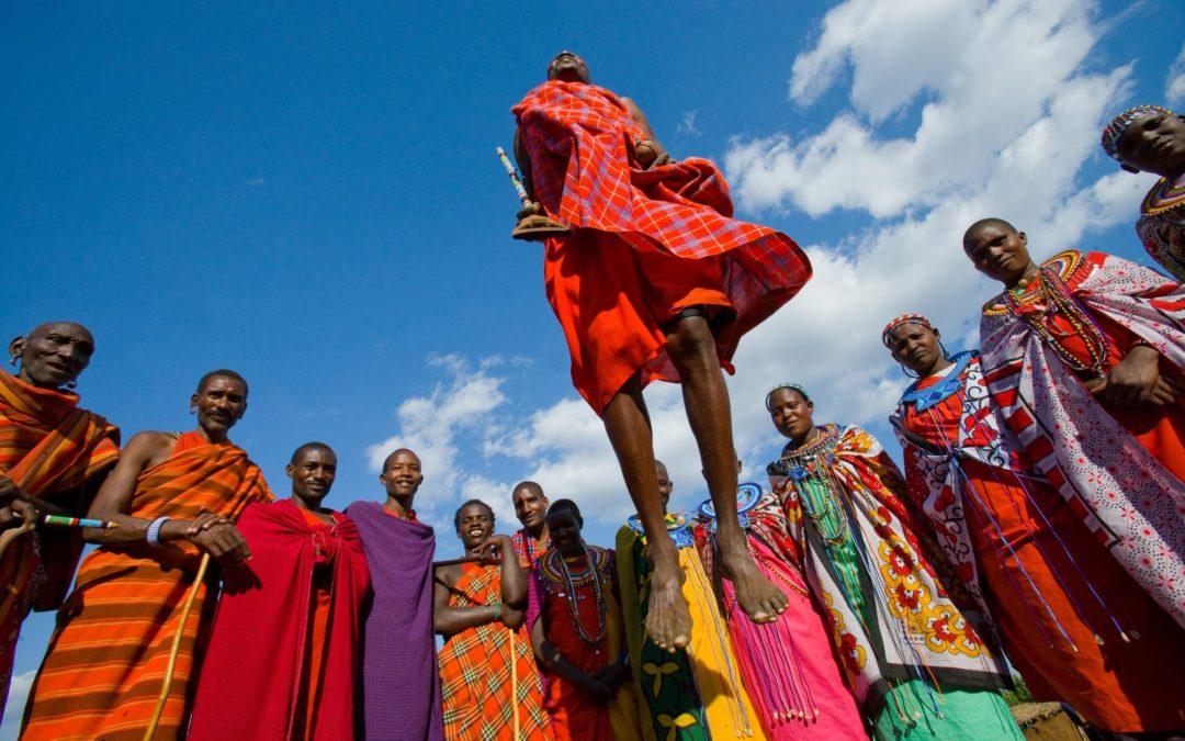 Tanzanie Jeux Masais
